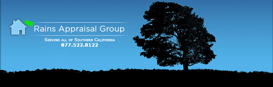 Rains Appraisal Group Southern California real estate appraisals for San Diego County and Riverside County